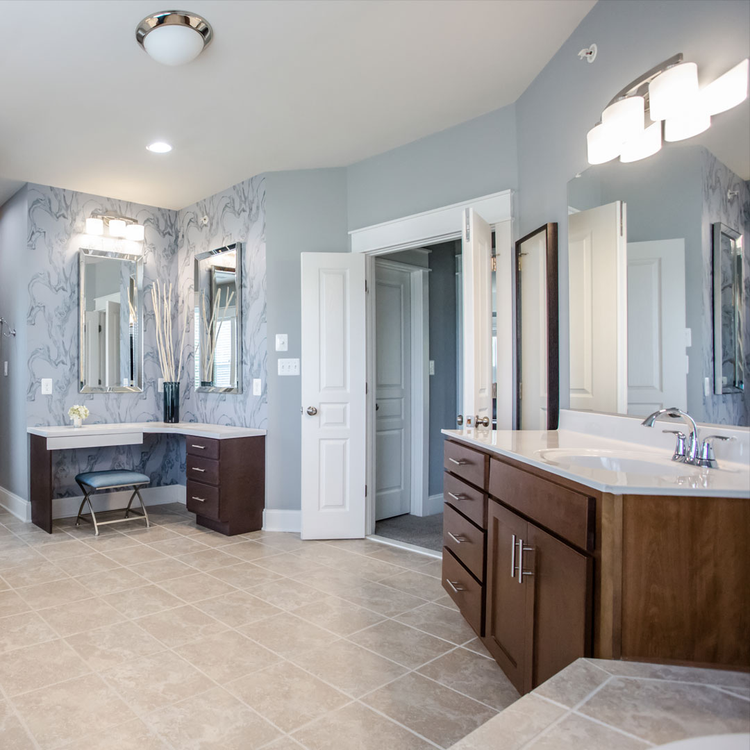 Commercial photography, real estate photography, interior of bathrom