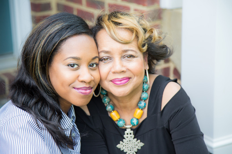Family Photography and Milestone Photography, mother and daughter