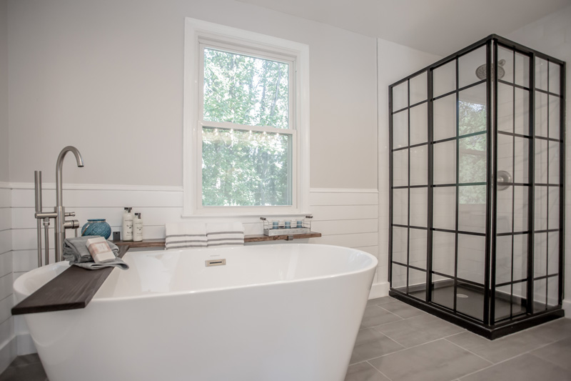 Real Estate Photography, close up shot of tub